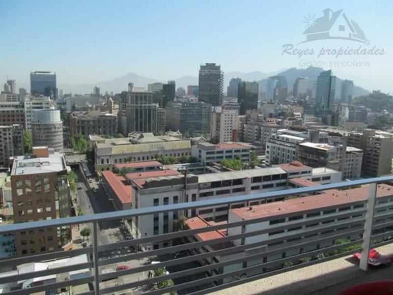 Arriendo Depto 2 Dormitorios, Metro Universidad de Chile