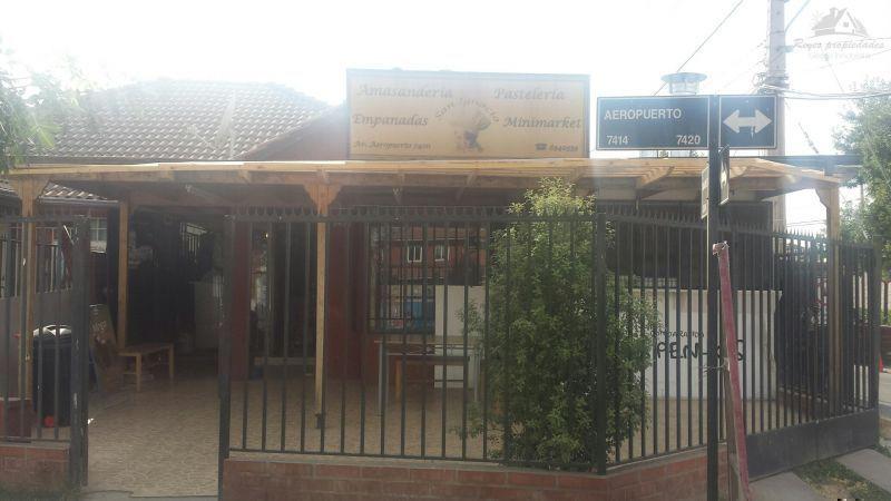 Arriendo Casa con 2 Locales Comerciales Independientes, Cerrillos