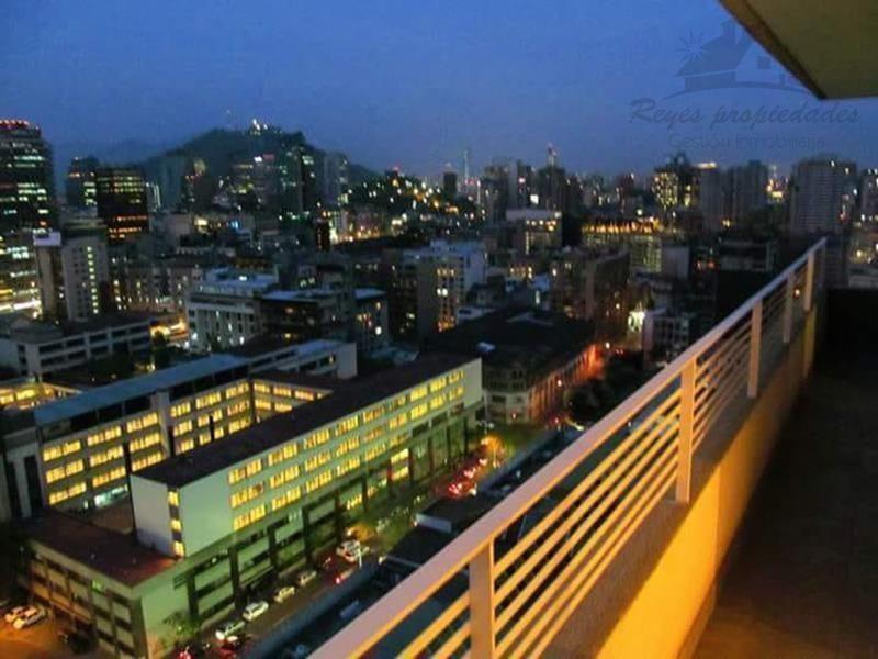 Hermoso departamento 2 dormitorios, Metro U de Chile